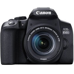Canon EOS 850D (with EF-S 18-55mm IS STM Lens)